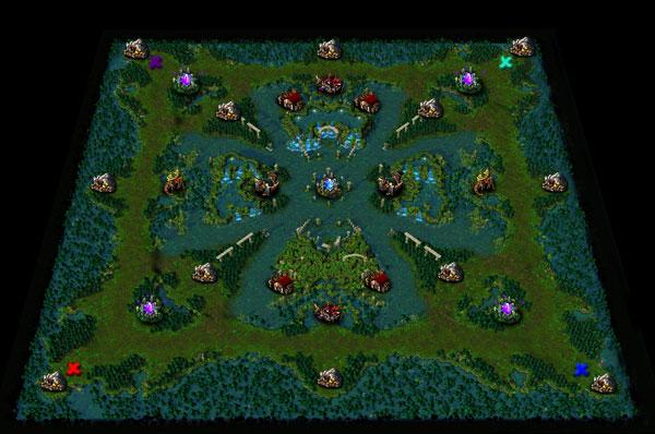 The Deathrose is a rare flower that grows only in the deepest - Карты для Warcraft III - Каталог файлов - Персональный сайт